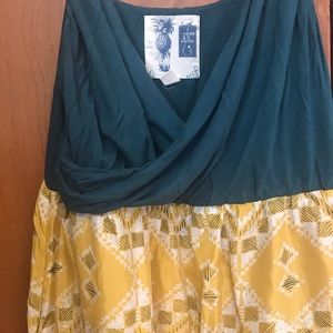 Anthropologie Edme & Estylle Cuernavaca Dress